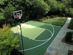 Kids Dream - Sport court w/ rebound net: