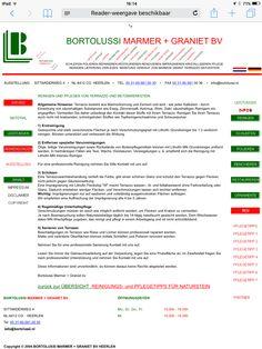Pflegetipp für Terrazzo und Betonwerkstein