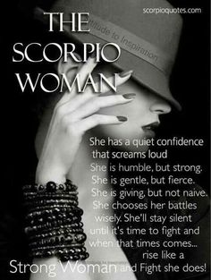 Scorpio Midheaven...describes me
