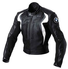 Color: Black / Gray, Black / Blue Sporty jacket in BMW Motorrad Motorsport colors highly abrasion-resistant cowhide nappa leather mm) NP back protector and NP protectors at knee, Bmw Motorbikes, Motos Bmw, Motorbike Jackets, Motorbike Leathers, Biker Jackets, Motorcycle Leather, Motorcycle Outfit, Biker Leather, Racing Moto