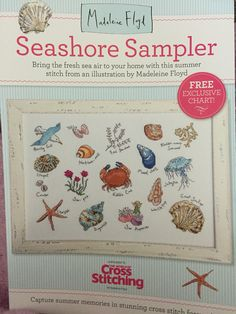 Seashore Sampler by Madeleine Floyd, giant chart (project box)