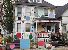 Main - Detroit's Heidelberg Street Art Project - Jim West Photography
