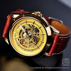 Hey, I found this really awesome Etsy listing at http://www.etsy.com/listing/130517291/steampunk-watch-women-wat0090-gold