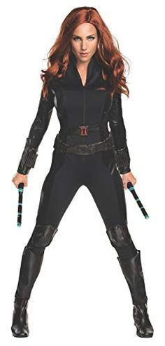 Great Marvel's Captain America: Civil War Black Widow Secret Wishes Adult Costume. New ideas of Marvel Costumes for Halloween at PartyBell. Black Widow Marvel Costume, Black Widow Halloween Costume, Captain Marvel Costume, Captain America Costume, Marvel Costumes, Captain America Civil War, Adult Costumes, Costumes For Women, Halloween Costumes