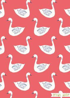 swan pattern - Google 検索