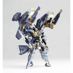 Revoltech Yamaguchi No.120 Jehuty & Vector Cannon (ANUBIS ZONE OF THE ENDERS) - import from Japan