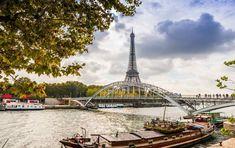 Skip the Crowds: 8 Tourist Places to Avoid in Paris by Paris Perfect Passerelle Debilly Tourist Places, Places To Travel, Places To Go, Paris France, Paris Paris, Old Bridges, Paris Summer, Just Dream, Travel Souvenirs