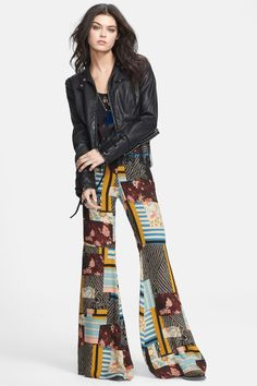Free People | Free People Lace Up Faux Leather Jacket | Nordstrom Rack