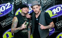 """Benji and Joel Madden. """"The Madden Brothers"""" Special guest supporting Keith Urban in January 2013, Sydney Allphones Arena."""