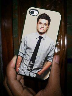 Josh Hutcherson - for iPhone 4 case iphone 4S case iPhone 5 Case iphone 4/4s/5 Case Hard Cover and I totally want it!