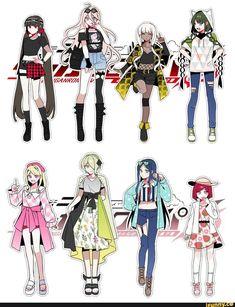 oh mah god New Danganronpa V3, Super Danganronpa, Danganronpa Characters, Anime Characters, Fanart, Style Anime, Angie Yonaga, Cute Art, Anime Boys