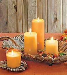 Candle & Melts -Pillar Candles. #partylite #candles #decoration #autumn #syksy #höst