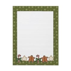 Cute country Holiday letterhead! .95 a sheet. Add your letter to it and let us do the printing for free!