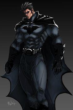 Bruce Wayne Batman by *ErikVonLehmann