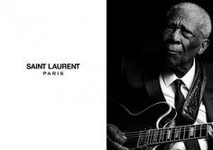Hedi Slimane Shoots B.B. King, Jerry Lee Lewis & Chuck Berry For Saint Laurent
