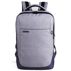 8af13aeff92b8 Kingsons 15.6 inch Solid Laptop Backpack high-capacity Men s Women s Travel  Computer bags Students School
