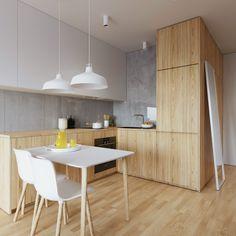 Scandinavian Dining Room Design: Ideas & Inspiration - Di Home Design Interior, Apartment Design, Dining Room Design, Kitchen Room Design, Home Kitchens, Kitchen Layout, Modern Kitchen Design, Minimalist Kitchen, Small Apartment Design