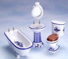 Banheiro em Porcelana