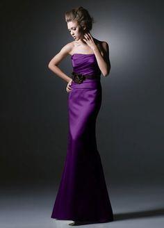 Purple Brides Maid Dress