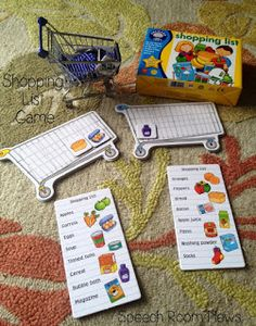 A Special Sparkle: Grocery Shopping Life Skills Interactive Activities  http://www.aspecialsparkle.com/2013/10/grocery-shopping-life-skills.html   and  other different ways to teach shopping