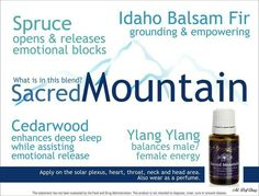 Sacred Mountain Essential Oil #youngliving #oilyfamilies emotional health