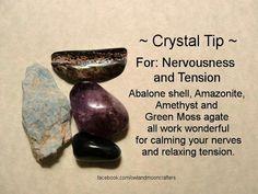 Crystal tip.