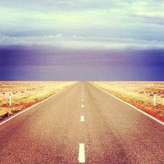 Australia Outback road from @Debbie Arruda Harris.com