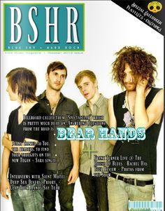 October Issue of BSHR with Bear Hands featuring Deep Sea Diver (Jessica Dobson of the Shins) Saint Motel + more     blueskyandhardrock.com/bsides
