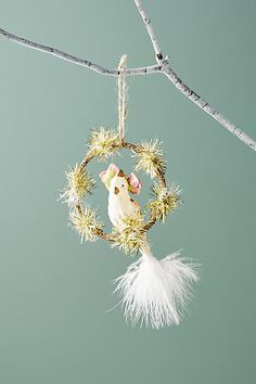 Anthropologie Birdsong Ornament #ad #AnthroFave #AnthroRegistry Anthropologie