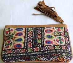 Leather Banjara purse Mother's Daughter's by coloursofspirit