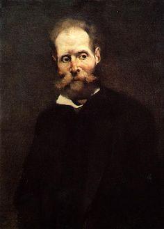 Portrait of Antero de Quintal, 1889 - Columbano Bordalo Pinheiro