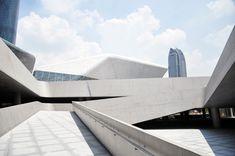 zaha hadid architects: guangzhou opera house