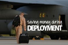 Save money during deployment: essential tips for paying down debt, catching up on bills and saving up when deployed. #MSW2013