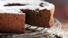 Jill Dupleix's favourite chocolate cake.