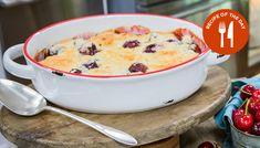Celebrity chef Nancy Fuller is making a tasty seasonal dessert with fresh cherries. Raspberries, Cherries, Blueberries, Strawberries, Fruit Recipes, Baking Recipes, Cherry Cobbler, Desserts To Make, Hallmark Channel