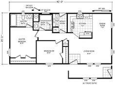 24 Best manufactured homes for mom images in 2018 | Floor plans