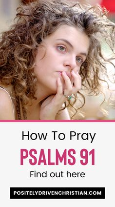 Here's how to pray Psalms 91 for protection and safety. This bible lesson will share the history of Psalms 91 protection prayer, and prayer tips. Learn more Positive Bible Verses, Powerful Bible Verses, Encouraging Verses, Bible Verses About Love, Verses About Strength, 1 Verse, Audio Bible, Prayer For Protection, Personal Prayer