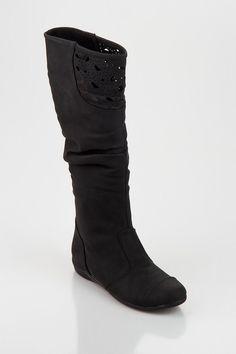 Gusto & Me Siyah Çizme T12K400001 %66 indirimle 89,99 TL Trendyol'da