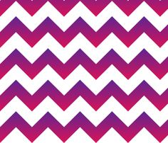 Purple to Pink Ombre Chevron fabric by megankaydesign on Spoonflower - custom fabric