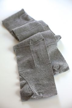 mothra - cashmere scarf : recycled felted hand-stitched patched