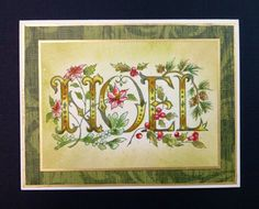 IC560 NOEL by hobbydujour - Cards and Paper Crafts at Splitcoaststampers