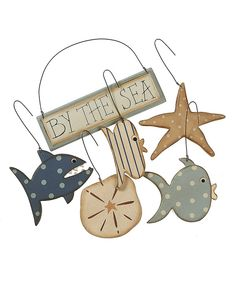 Take a look at this 'By the Sea' Ornament Set on zulily today!