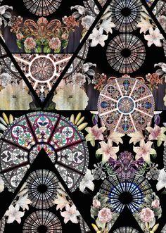 Digital patterns on Behance