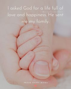 Are you a new mom or dad looking for the best new baby quotes and sayings to help welcome a newborn baby into the world? Then you have come to the right place! Happy Baby Quotes, Love My Kids Quotes, Cute Baby Quotes, New Baby Quotes, My Children Quotes, Baby Girl Quotes, Mother Quotes, New Baby Poem, New Baby Wishes