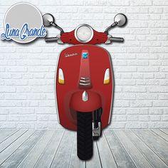Moto Scooter para Photocall - impreso a todo color en HD Envío gratis, https://lunagrande.es/producto/photocall-moto-scooter/