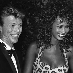 david bowie with Iman