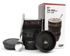 ENTER HERE for your chance to WIN a Camera Lens Coffee Mug Giveaway