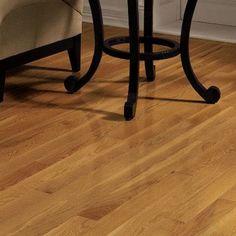 "Bruce Flooring Dundee 3-1/4"" Solid Red Oak Hardwood Flooring in Butterscotch"