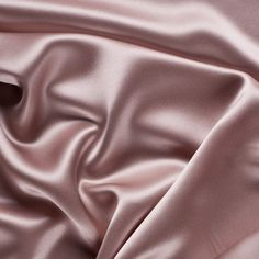 Blush Stretch Silk Charmeuse