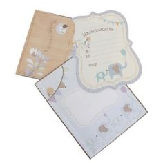 hiPP Special Delivery Boy Invitation Kit (set of 25)